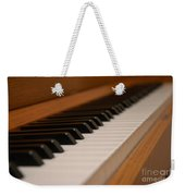 Invisible Pianist Weekender Tote Bag