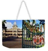 'iolani Palace Weekender Tote Bag