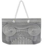 Ionic Capital Of Wall Street, Ny Weekender Tote Bag
