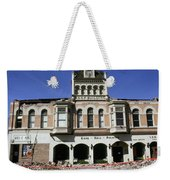Watsonville I. O. O. F. Building Built In 1893  Damaged By The Loma Prieta Earthquake 1989 Weekender Tote Bag