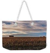 Iowa Corn Fields In The Fall Weekender Tote Bag