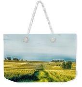 Iowa Cornfield Panorama Weekender Tote Bag