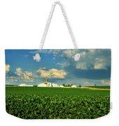 Iowa Soybean Farm Weekender Tote Bag