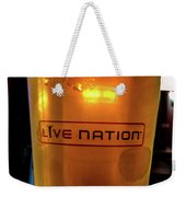 Ipa Beer In Live Nation Cup At Shoreline Amphitheatre During Dead And Company Weekender Tote Bag
