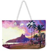 Ipanema Sunset Weekender Tote Bag