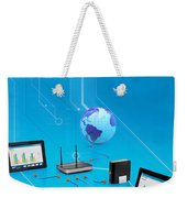 iPhone apps development company Sharjah Weekender Tote Bag