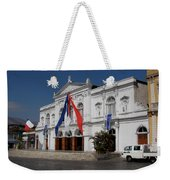 Iquique Chile Courtyard Weekender Tote Bag