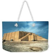 Iraq: Ziggurat In Ur Weekender Tote Bag by Granger