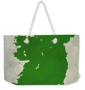 Ireland Grunge Map Weekender Tote Bag