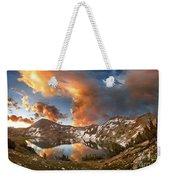 Ireland Lake Sunrise - Yosemite Weekender Tote Bag