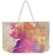 Ireland Map  Weekender Tote Bag