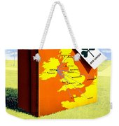 Ireland Vintage Travel Poster Restored Weekender Tote Bag