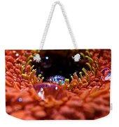 Iridescent Water Drops Weekender Tote Bag