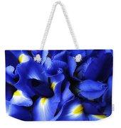 Iris Abstract Weekender Tote Bag