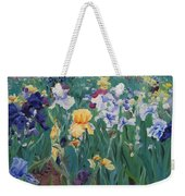 Iris Abun-dance Weekender Tote Bag