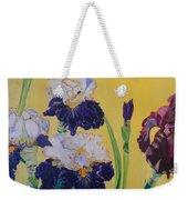 Iris Afternoon Delight Weekender Tote Bag
