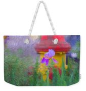 Iris And Fire Plug Weekender Tote Bag