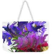 Iris And Tulip Weekender Tote Bag