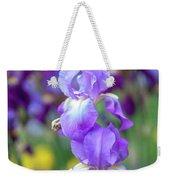 Ballet Girl. The Beauty Of Irises Weekender Tote Bag