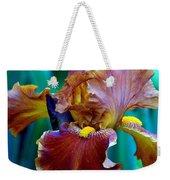 Iris Beauty Photograph Weekender Tote Bag