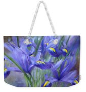 Iris Bouquet Weekender Tote Bag