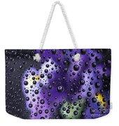 Iris Bubbles Weekender Tote Bag