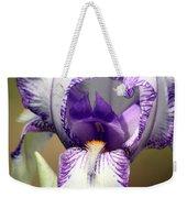 Iris Close-up Weekender Tote Bag