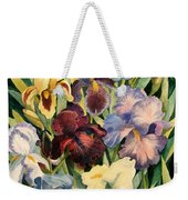Iris Collection Weekender Tote Bag