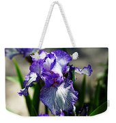 Iris Dressed For Royalty Weekender Tote Bag