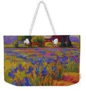 Iris Field Weekender Tote Bag