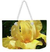 Iris Flower Floral Art Prints Orange Irises Weekender Tote Bag