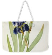 Iris Germanica Weekender Tote Bag by Pierre Joseph Redoute