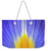 Iris Leaf Abstract Weekender Tote Bag