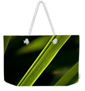 Iris Leaves Weekender Tote Bag