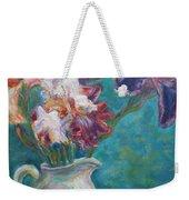 Iris Medley - Original Impressionist Painting Weekender Tote Bag