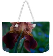 Iris Passion Weekender Tote Bag