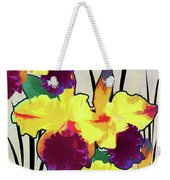 Iris Shadow Weekender Tote Bag