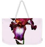 Iris Splash O' Wine Weekender Tote Bag