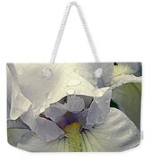 Iris With A Bonnet Series 7 Weekender Tote Bag