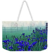 Irises At Dawn 3 Weekender Tote Bag