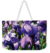 Irises Princess Royal Smith Weekender Tote Bag