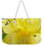 Irises Yellow Brown Iris Flowers Irises Art Prints Baslee Troutman Weekender Tote Bag