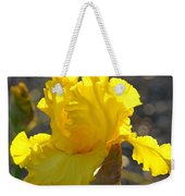 Irises Yellow Iris Flowers Art Prints Floral Canvas Baslee Troutman Weekender Tote Bag