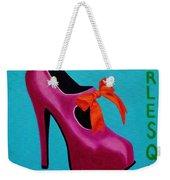 Irish Burlesque Shoe    Weekender Tote Bag