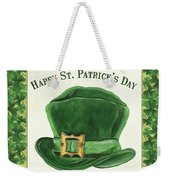 Irish Cap Weekender Tote Bag