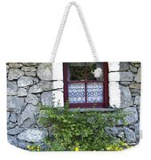 Irish Cottage Window County Clare Ireland Weekender Tote Bag