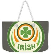 Irish Weekender Tote Bag