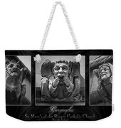 Irish Gargoyles Triptych Weekender Tote Bag