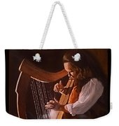 Irish Harp Weekender Tote Bag
