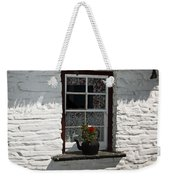 Irish Kettle Of Geraniums County Cork Ireland Weekender Tote Bag